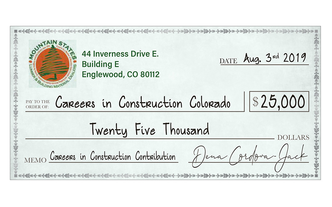 $25,000 Raised for Careers in Construction